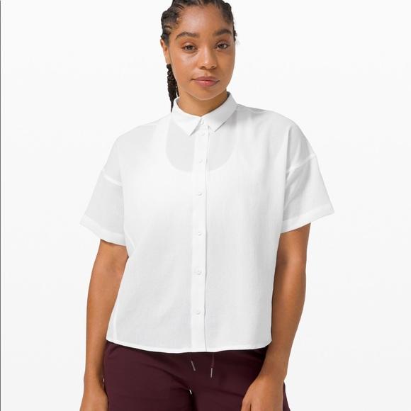 Lululemon Full Day Ahead Short Sleeve Shirt